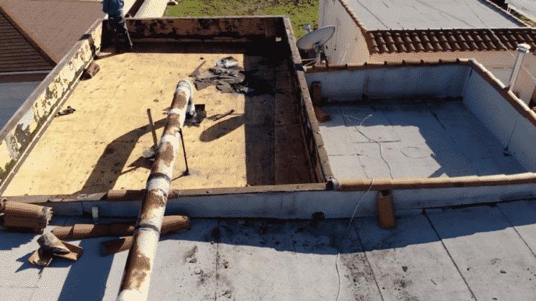 roof repair process
