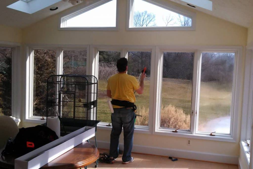 installing and repairing windows
