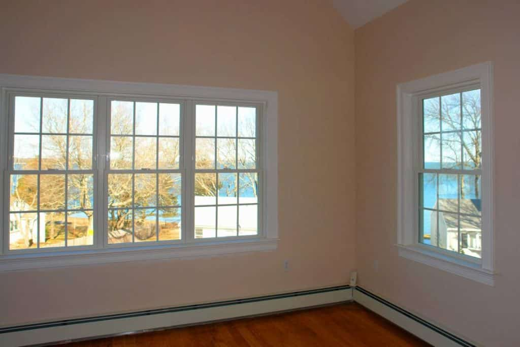 new windows in room
