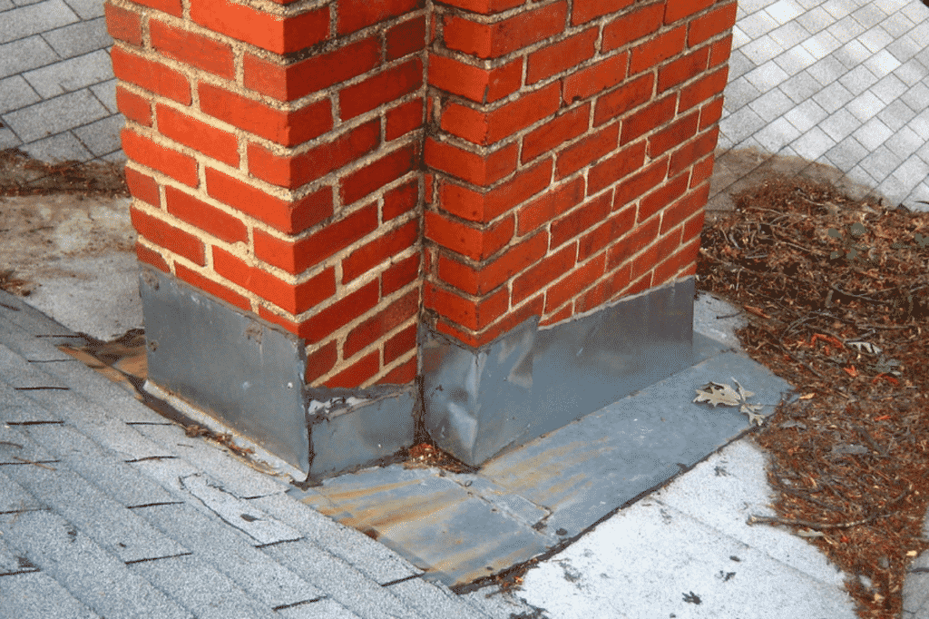chimney roof flashing