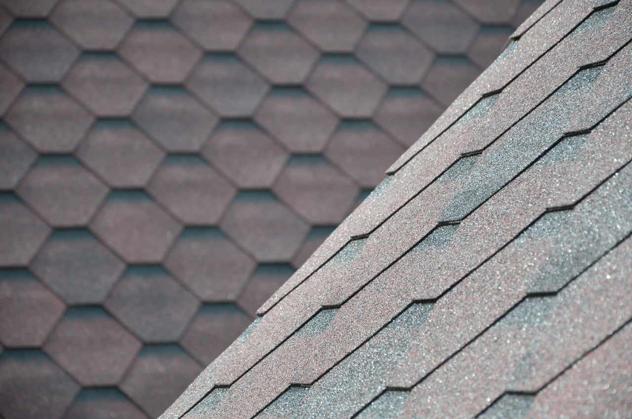 colored and textured shingles