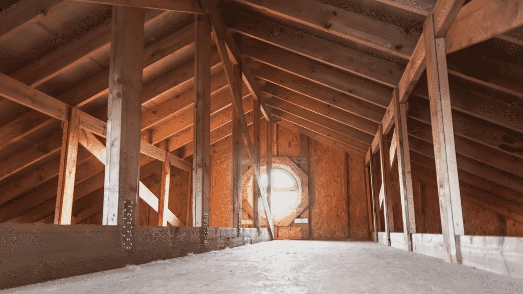 how to repair a roof leak attic