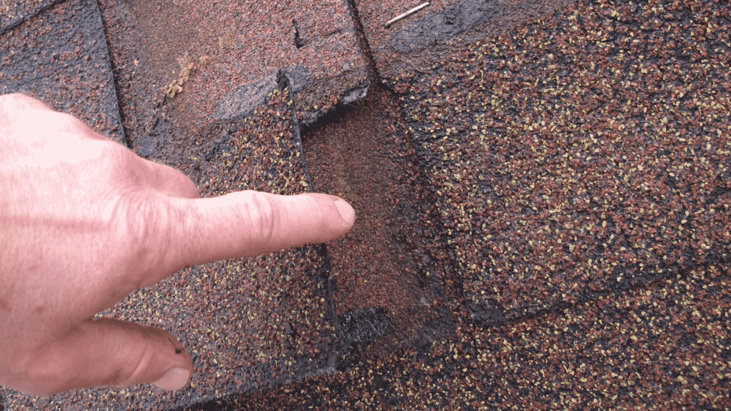 cracked shingles how to fix a roof leak