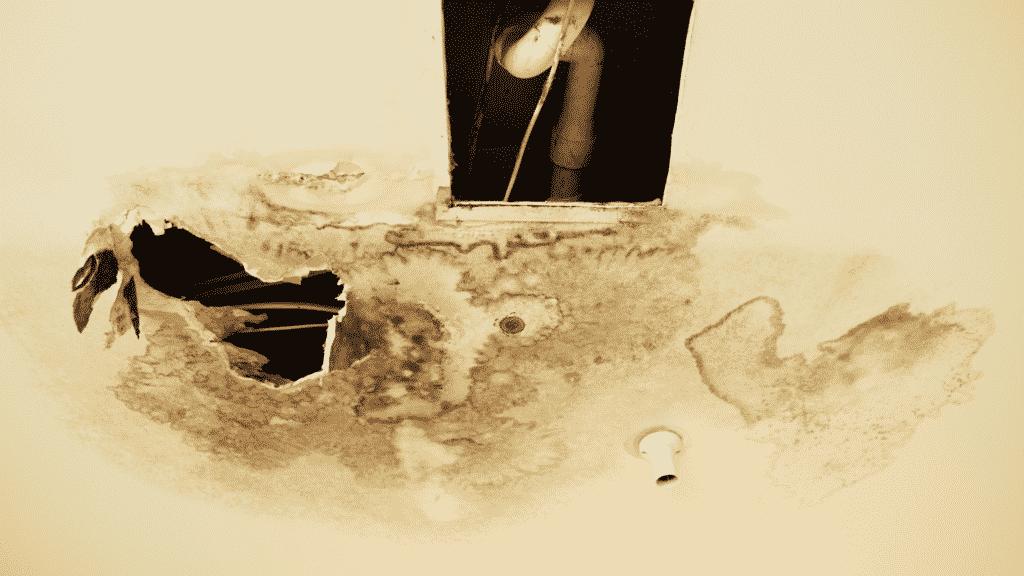 deteriorating materials