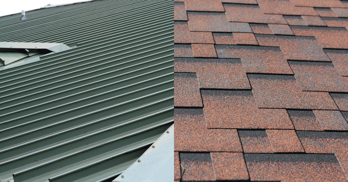 Metal Roofs vs Asphalt Shingles